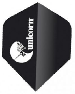 Maestro STD Black Darts Flight – Unicorn
