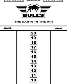Bull's Budget Whiteboard 45×30 cm