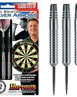 Eric Bristow Silver Arrows Dartpijlen 18-22-26 Gram