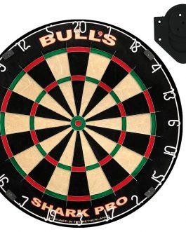 bull's shark pro dartboard inclusief bracket