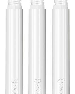 8 Flight Shaft White Medium