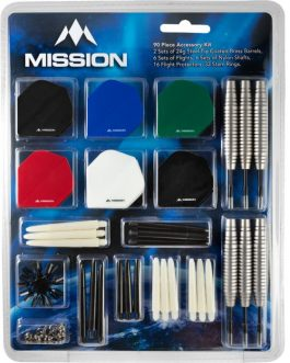 Mission Darts Accessory Kit 90 Steel