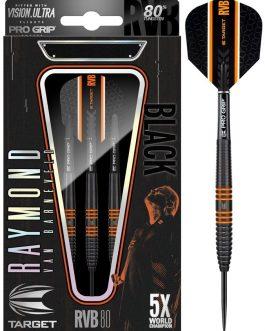 Raymond van Barneveld RVB 80 Black 80%